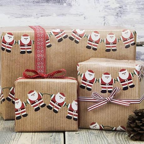 original_christmas-character-bunting-wrapping-paper
