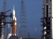 Orion decolla lascia NASA terra