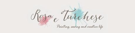 Come fare un quadro con la tecnica mixed media- Tutorial di Rosa e Turchese