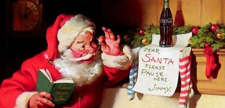 Coca Cola Babbo Natale.La Vera Storia Di Babbo Natale Creazione Della Coca Cola Paperblog