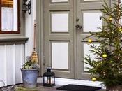 romantica casa scandinava decorata Natale