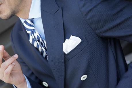Pochette da uomo: come scegliere e abbinare il fazzoletto ...