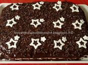 Torta cioccolato, nocciole amaretto stelline per.... Elisa