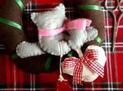 Christmas Garland… ghirlanda Natale feltro porta