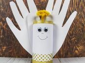 Lavoretti Natale: come fare angioletto tubo cartone