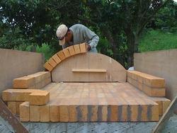Costruire un forno a legna paperblog for Forno a legna in mattoni refrattari