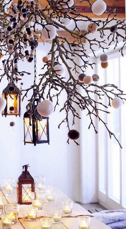 Christmas time decorazioni faidate per la casa qualche idea paperblog - Rami secchi per decorazioni ...