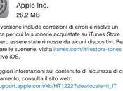 Apple rilascia l'aggiornamento sistema operativo 8.1.2