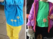 Decorare magliette ricamo uncinetto Decorating t-shirts with crochet embroidery