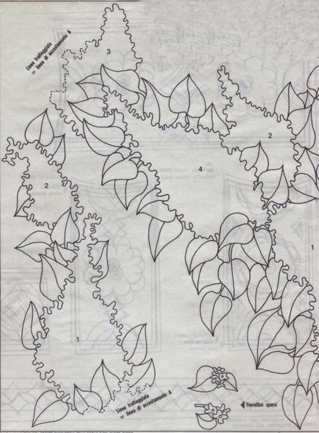 Favoloso Ricamo classico:Scialle ricamato con fiori di lillà - Paperblog KC27