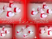 Cappellini babbo natale Segnaposto natalizi
