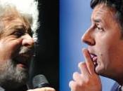 Matteo Renzi, Beppe Grillo primato social network