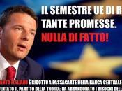 finito 'nulla fatto' semestre presidenza Renzi.