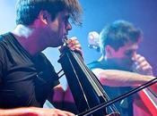 2Cellos, violoncello rompe muro suono