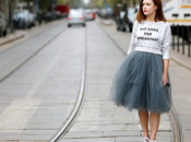 Street...Tulle Skirt...For vogue.it