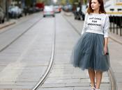 Street...Tulle Skirt...For vogue.it
