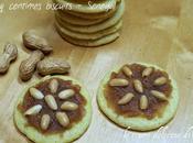 Cinq centimes biscuits biscotti zucchero guarniti burro arachidi Senegal