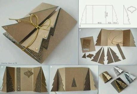 Natale sta arrivando biglietti augurali con patterns e textures da pinterest paperblog - Originelle weihnachtskarten ...