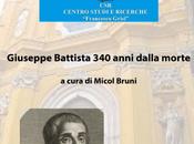 Accolta interesse l'apertura delle Celebrazioni Giuseppe Battista anni dalla morte