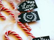 Candycane placeholder segnaposto Natale