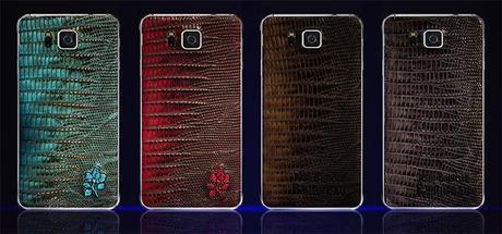 Il Samsung Galaxy Alpha si veste di pelle