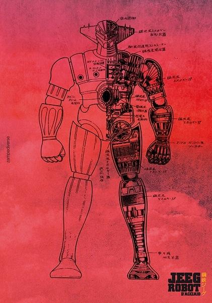 Hit parade italia cartoni animati jeeg robot