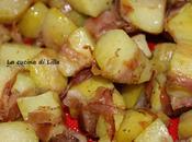 Antipasti: Patate avvolte nella pancetta