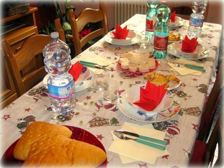 La mia tavola di natale paperblog - Addobbi natalizi per tavola da pranzo ...