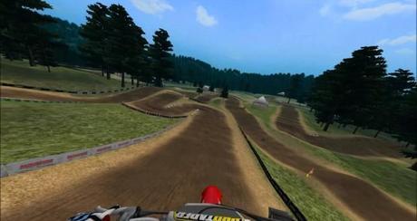 Motocross Moto Simulator