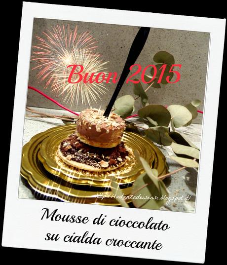 Mousse di cioccolato su cialda croccante paperblog - Bagno di cioccolato ...