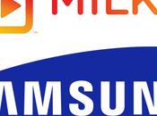 Milk Samsung vuole creare YouTube virtuale