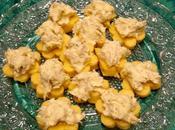 Tartine polenta buffet capodanno
