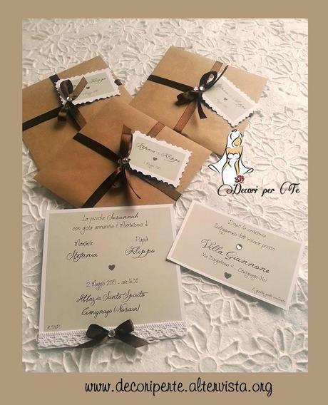 Inviti Matrimonio Country Chic : Partecipazioni matrimonio quot country chic