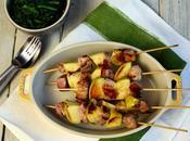 #lebuonericette #menuperdue riprendere gusto leggerezza spiedini maiale marinato all'arancia mele