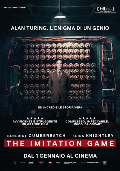 Cinema, The Imitation Game tra le nuove proposte