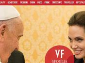 Angelina Jolie Papa Francesco: incontro Vaticano foto