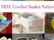 Cestini all'uncinetto schemi Free crochet baskets