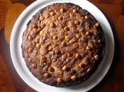 Torta rustica nocciole uvetta Rustic hazelnuts raisin cake