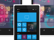 Ecco nuovo interessante concept Windows Phone icone Wireframe