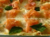 Lasagne salmone, taleggio, philadelphia ricotta