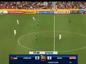 Giordania-Iraq 0-1, video highlights