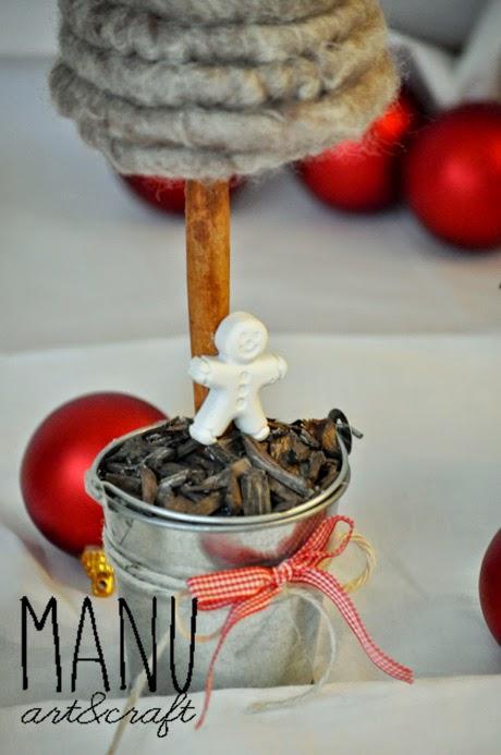 il mio Natale handmade...alberelli prima parte