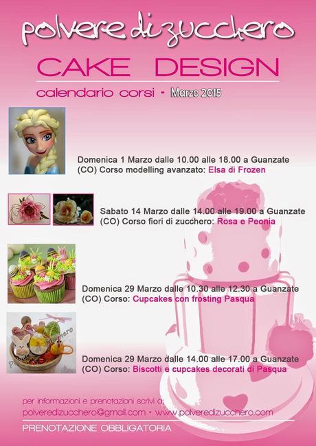 Corso Di Cake Design Varese : Corsi di cake design: calendario gennaio, febbraio, marzo ...