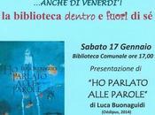 """parlato alle parole"""", presentazione reading Biblioteca Castelfranco Sotto, 17/01/2015"""