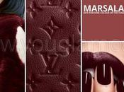 Pantone 2015: Marsala sfumature rosso