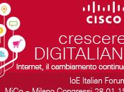 #IoEforumita: centro della rivoluzione digitale sono persone