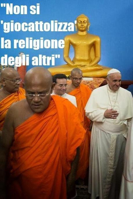 Papa Francesco 'scomunica' Charlie Hebdo!