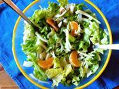 Insalata finocchi, lenticchie mandarini