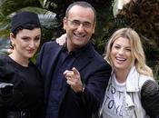 Sanremo 2015: Arisa, Emma Rocio Munoz Morales vallette Conti