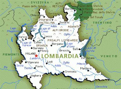 Cartina Geografica Italia Lombardia.Lombardia Paperblog